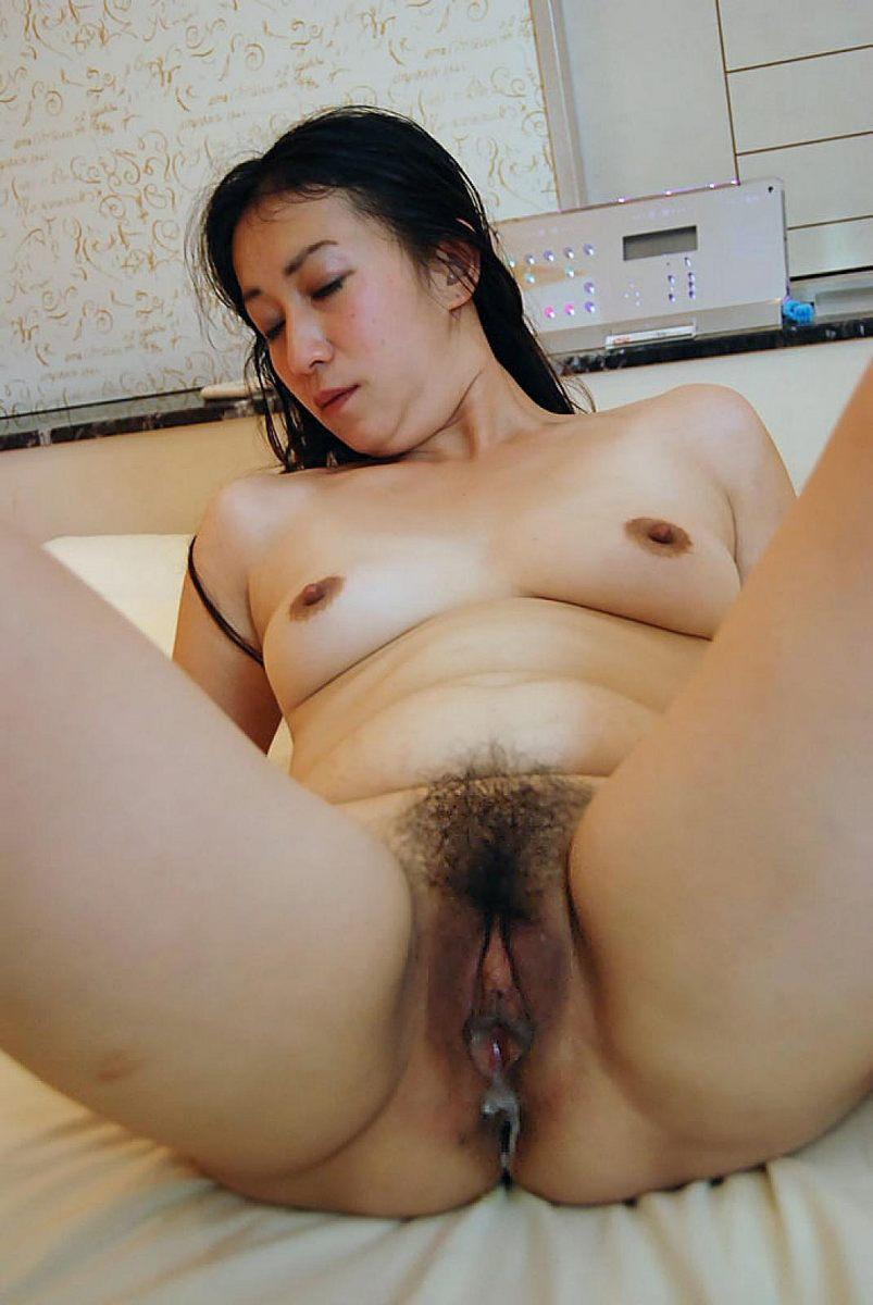 Fumie inada hairy japanese pussy explored 5